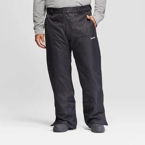 NWT Zermatt Men's Black Tall Snow Ski Pants - L